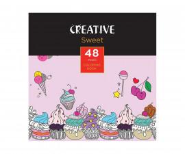 Детска занимателна книжка за оцветяване, 15 x 15см, 48 страници 75089