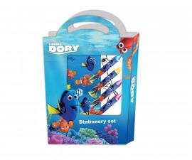 Комплект Disney Dory, 8 цветни листа, пастели, стикери