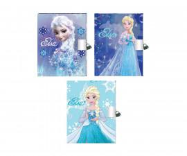 Бележник с катинарче Disney Frozen, асортимент