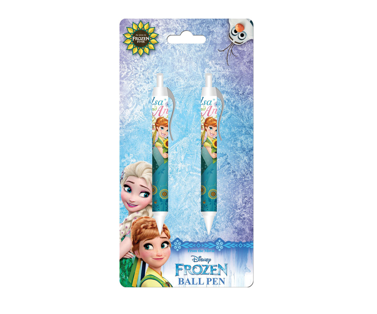 Химикалки Disney Frozen, 2 броя