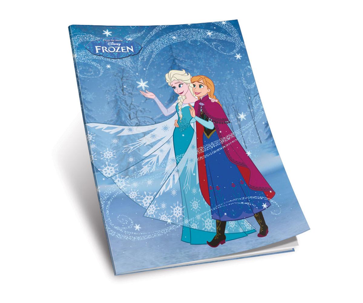 Тетрадка Frozen A5, 52 листа, квадратчета
