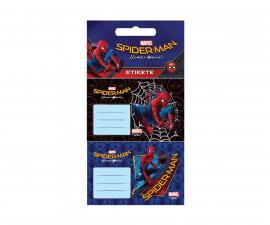 Етикети за тетрадка Спайдърмен 3