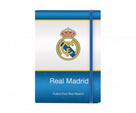 Бележник с ластик FC Real Madrid