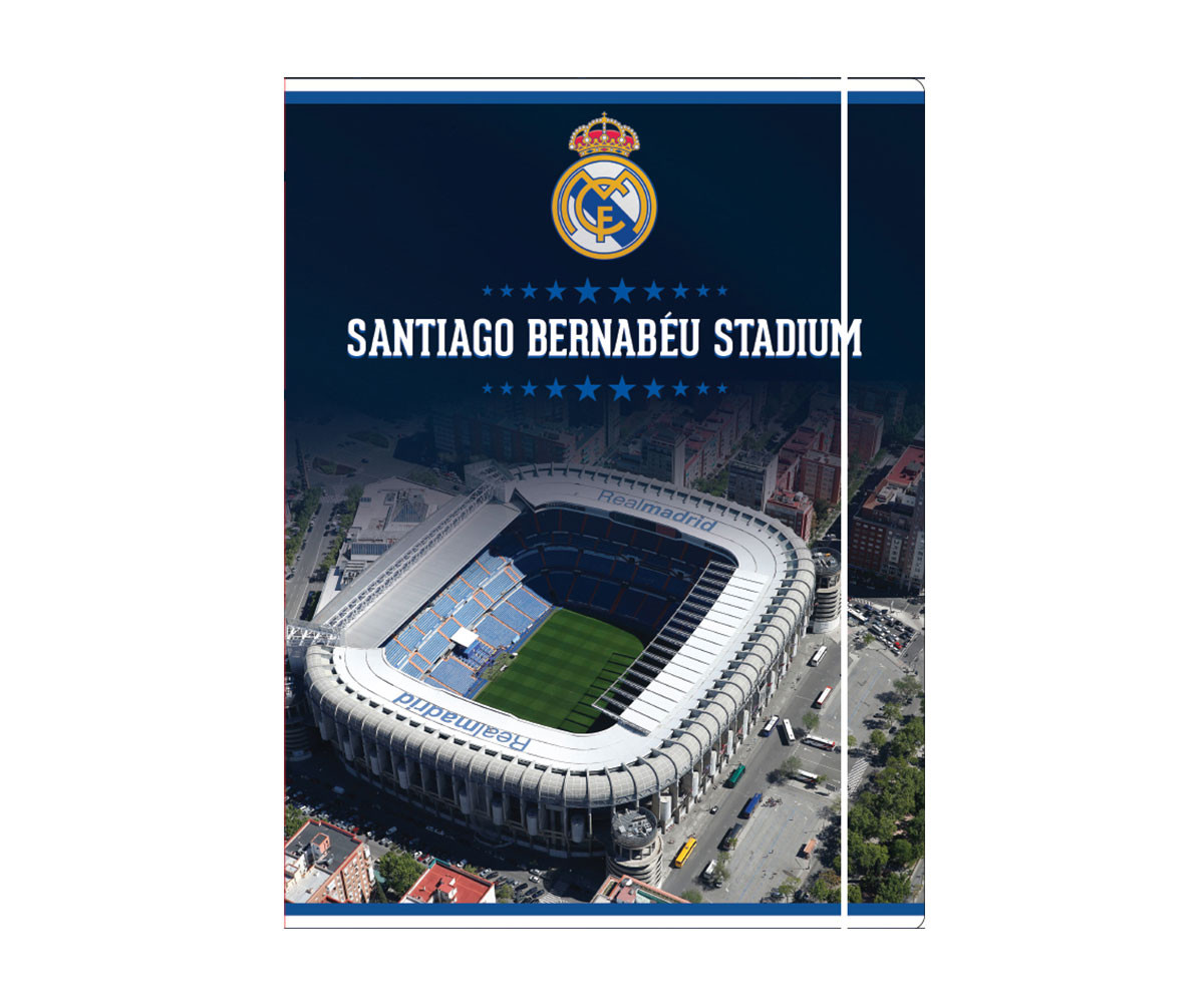 Папка с ластик FC Real Madrid