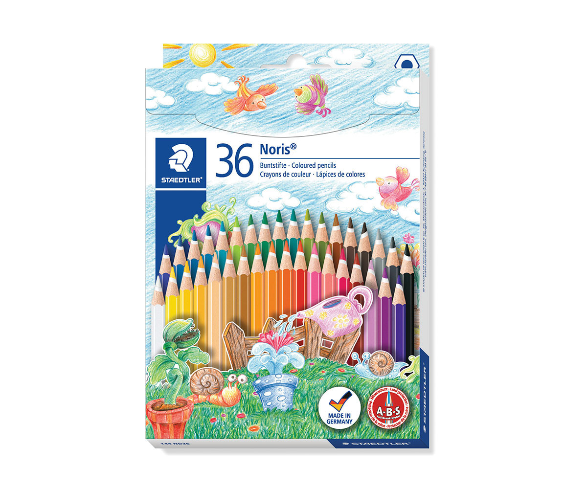 Цветни моливи Staedtler, 36 цвята