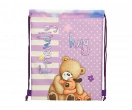 Детска спортна чанта Popcorn Bear Friends