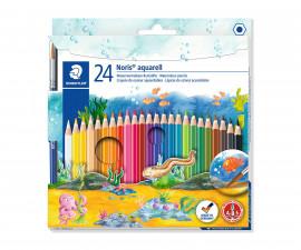 Ученически принадлежности цветни моливи Staedtler NC Aquarell 144, 24 цвята 144 10NC24