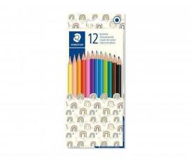 Ученически принадлежности цветни моливи Staedtler Pattern 175, 12 цвята 175 PMC12