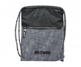 Детска спортна чанта Hollywood, 35 x 44 см, сива