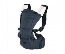 Ергономично кенгуру за бебе Chicco Gear 3в1 Hip Seat, Denim