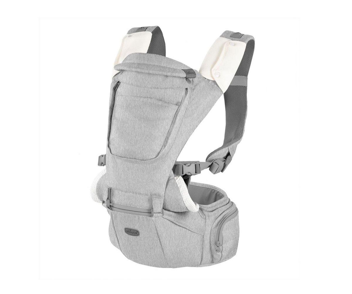 Ергономично кенгуру за бебе Chicco Gear 3в1 Hip Seat, Titanium
