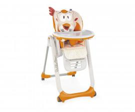 Бебешки столчета за хранене Chicco Gear Polly2Start, 4 колела Fancy Chic
