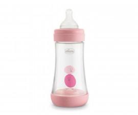 Бебешко шише Chicco Perfect5, PP, 240 мл, момиче
