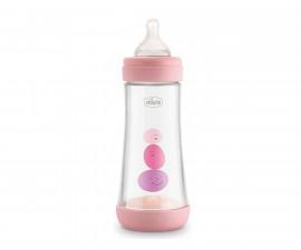 Бебешко шише Chicco Perfect5, PP, 300 мл, момиче