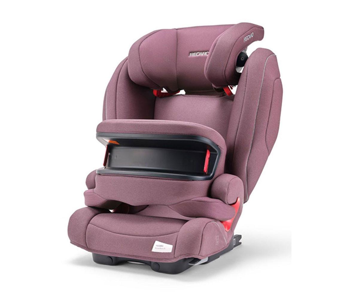 Детско столче за кола Recaro Monza Nova IS seatfix Prime, pale rose 9-36 кг