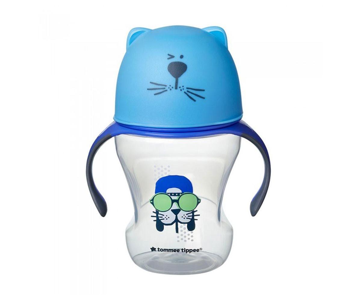 Бебешка чаша за лесен преход с мек силиконов накрайник и дръжки Тommee Тippee