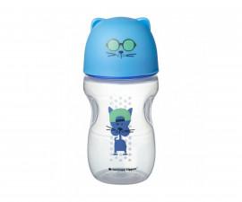 Бебешка чаша за лесен преход с мек силиконов накрайник Тommee Тippee, коте