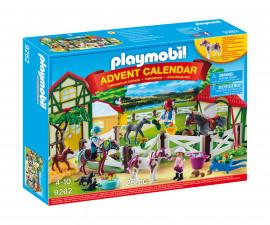 Детски Коледен Календар Playmobil - Коледен календар Ферма за коне