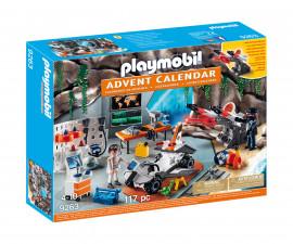 Детски комплект за игра - Playmobil - Коледен календар Топ Агенти