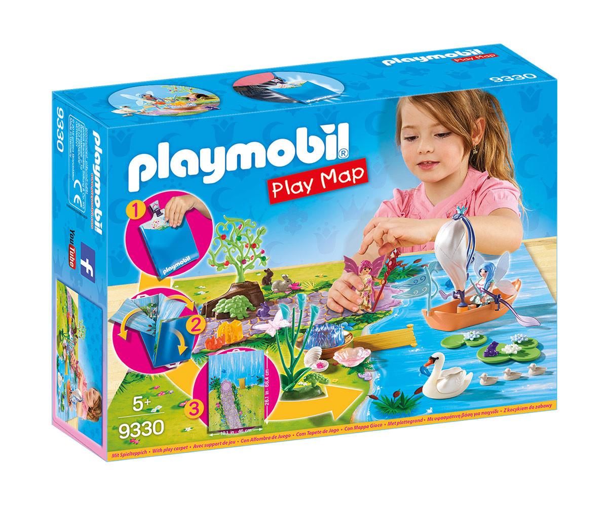 Детска играчка - Playmobil - Преносим комплект Градина с феи