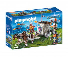 Детска играчка - Playmobil - Катапулт с коне