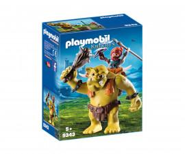 Детска играчка - Playmobil - Трол гигант с джудже боец