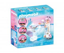 Детска играчка - Playmobil - Принцеса, ледено цвете