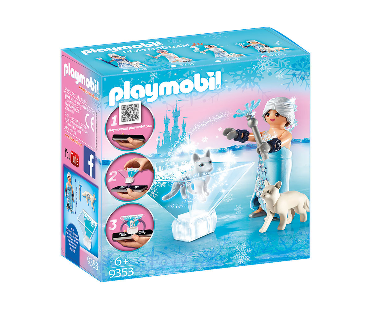 Детска играчка - Playmobil - Принцеса, зимен цвят