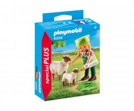 Детска играчка - Playmobil - Фермер с овце