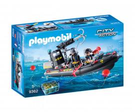 Детска играчка - Playmobil - Лодка на специалните части