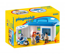 Детска играчка - Playmobil - Преносимо полицейско управление