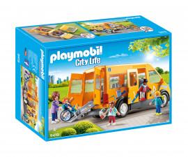 Детска играчка - Playmobil - Училищен автобус
