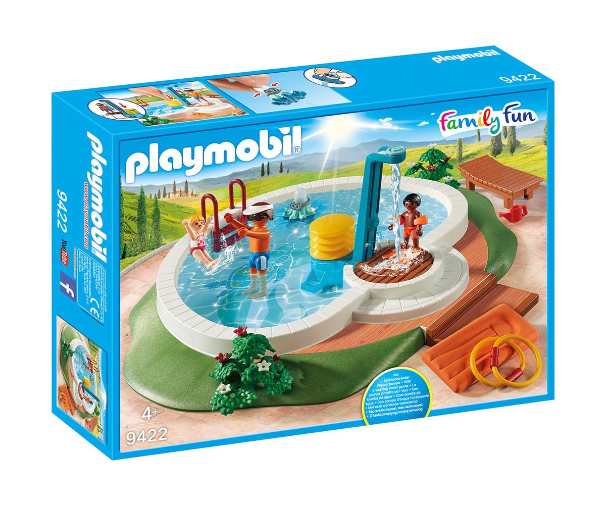 Детска играчка - Playmobil - Басейн