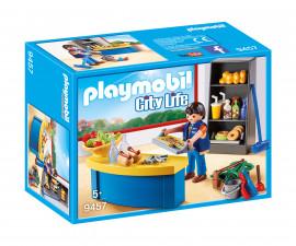 Детска играчка - Playmobil - Портиер в училище