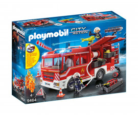 Детска играчка - Playmobil - Пожарна кола с контейнер за вода