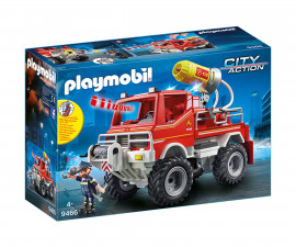 Детска играчка - Playmobil - Пожарна кола