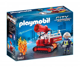 Детска играчка - Playmobil - Пожарникар с воден резервоар