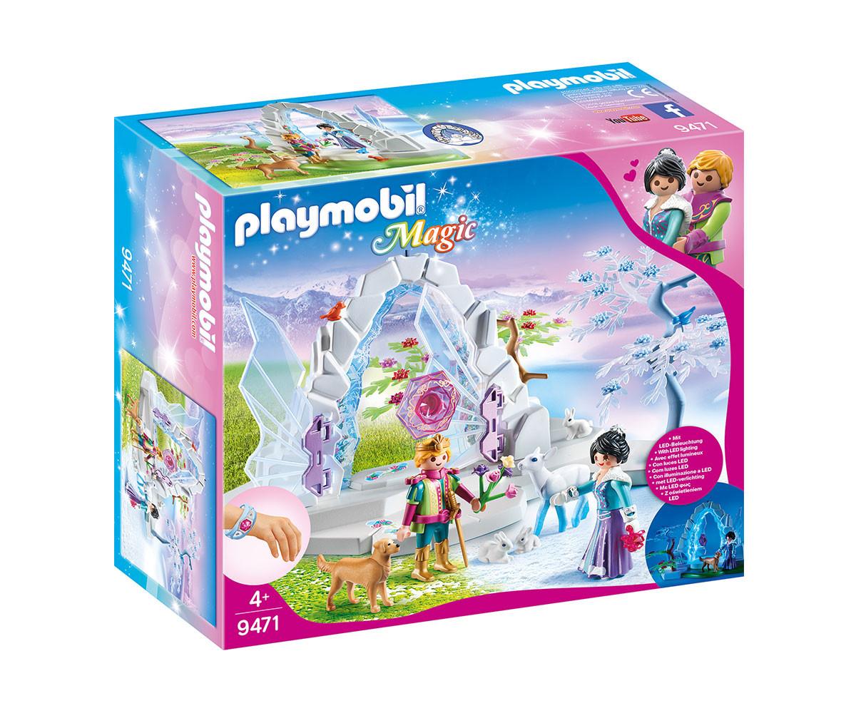 Детска играчка - Playmobil - Портал към Зимния свят