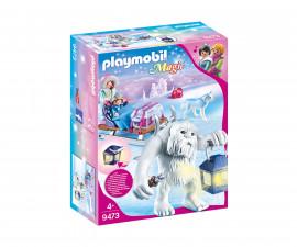 Детска играчка - Playmobil - Йети с шейна