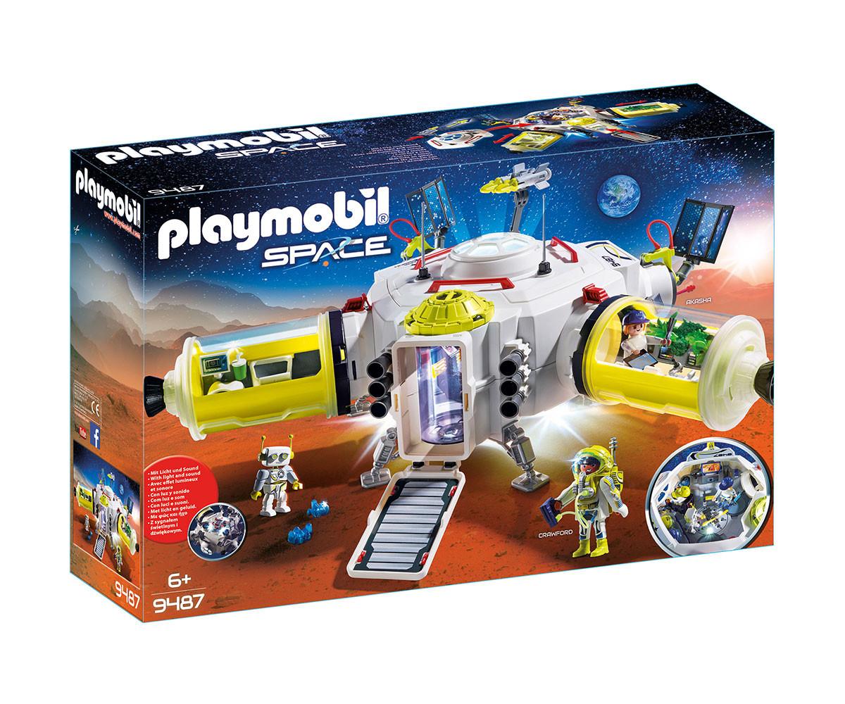 Детска играчка - Playmobil - Космическа станция на Марс