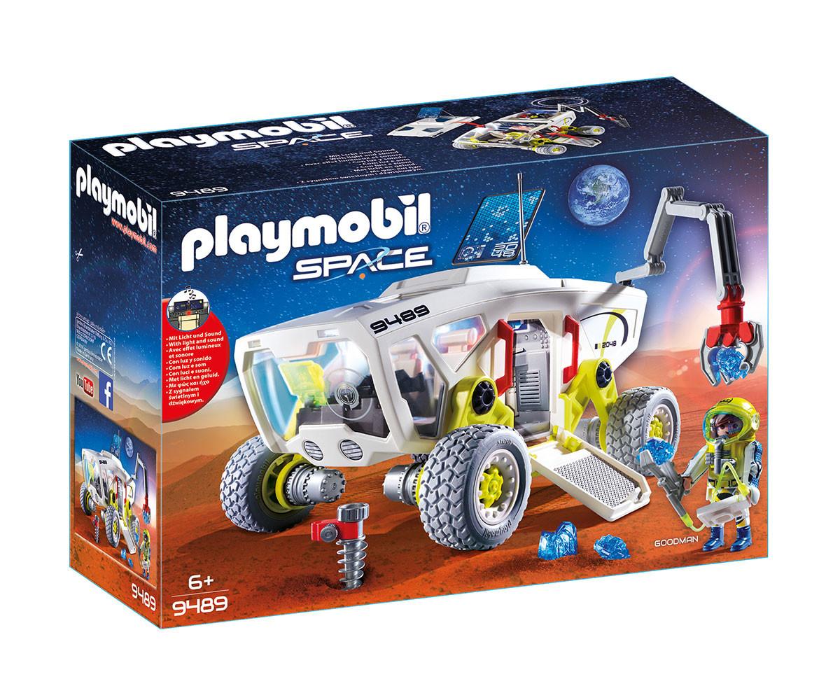 Детска играчка - Playmobil - Излседователски автомобил на Марс