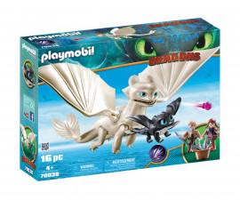 Детска играчка - Playmobil - Светъл Бяс с деца