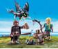 Детска играчка - Playmobil - Хълцук, Астрид и Дракон thumb 3