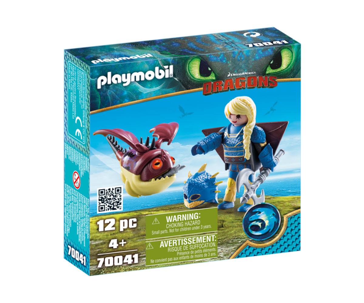 Детска играчка - Playmobil - Astrid with Hobgobbler