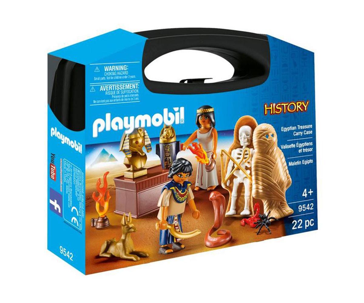 Детска играчка - Playmobil - Преносимо куфарче Египет