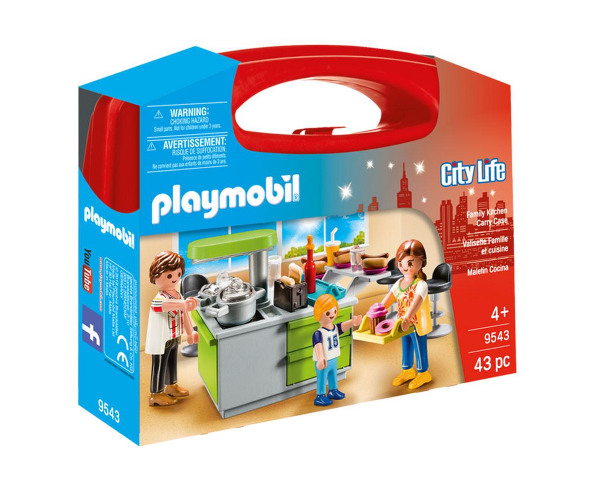 Детска играчка - Playmobil - Преносимо куфарче Кухня
