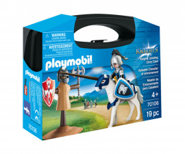 Детска играчка - Playmobil - Преносимо куфарче Рицари