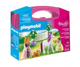 Детска играчка - Playmobil - Преносимо куфарче Принцеса с еднорог