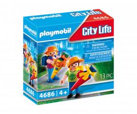 Детски конструктор Playmobil - 4686, City Life