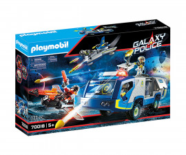 Конструктор за деца Галактически полицейски камион Playmobil 70018